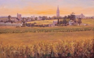 Saint Emilion village and commune
