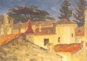 St Emilion, a plien aire study