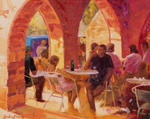 Cafe des Arcardes, Sauveterre