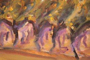 Dancing Vines Plien Aire (detail 1)
