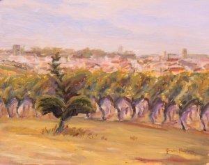 Sauveterre,  Dancing Vines, sketch made 'plien aire'