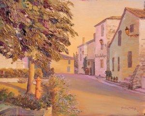 Sauternes, rue Principal et l'Auberge