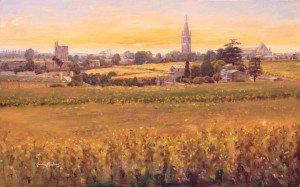 St Emilion Sunset
