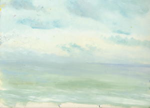 Study of St Austell Bay, Cornwall