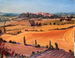 Castelnau de Montmiral & the drought