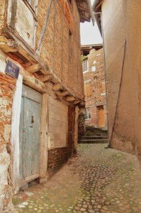 Gaillac, old quarter, detail