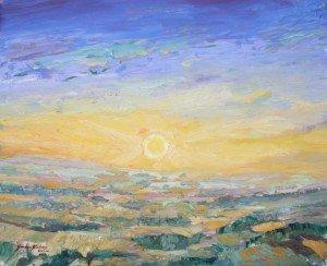 Sunrise, 25 July