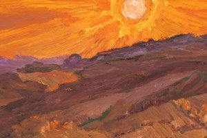 01 August Sunset (detail)