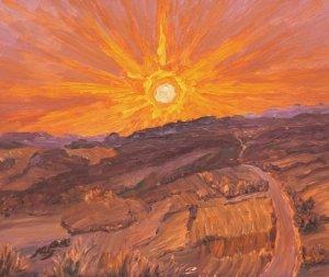 sunset, 01 August