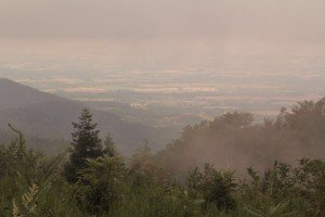 Plain of Albi seen from the Black Mountains