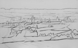 Carcassonne sketch 1