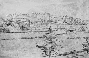 Carcassonne sketch 2