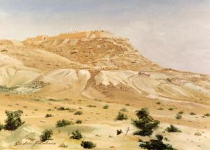 Avdat, Sinai desert, Israel