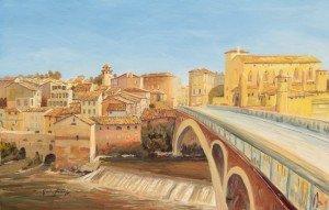 Painting progress, Gaillac 20.02.16