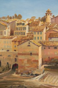 Gaillac, unfinished,  (detail 2 )