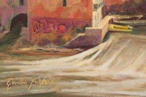 Gaillac, pont, Abbaye (detail 3)  16.05.16