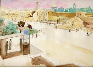 Jerusalem, the Western Wall