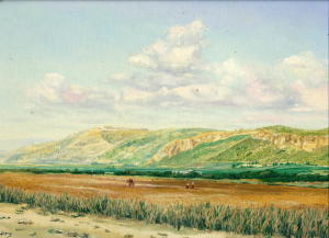 Mount Carmel knew the voice of the prophet Elijah.