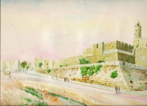 The Tower of David, Citadel of King David, Jerusalem, Israel,