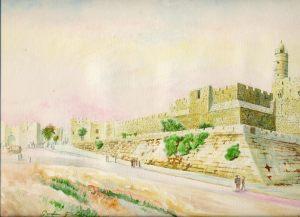 The Tower of David, Citadel of King David, Jerusalem, Israel,