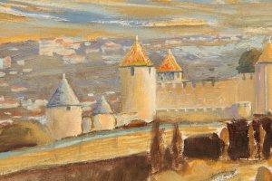 Carcassonne (detail 3)