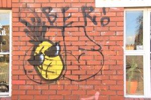 A Bristol street artist's 'signature'