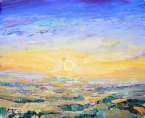 25 July sunrise; Lever 25 Juilet