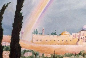 Jerusalem, Davids city (detail-1)