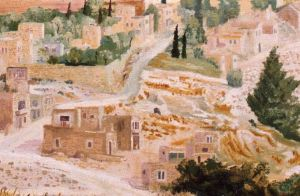 Jerusalem, Davids city (detail 2)