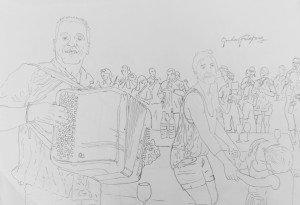 Los Musiacos concept sketch 1
