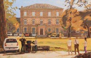 Chateau Las Tours, Gaillac, progress  03.10.16
