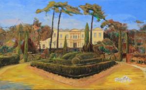 Chateau de Saurs, progressing  11.10.16