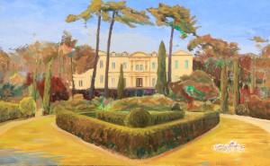 Chateau de Saurs, progress 23.09.16