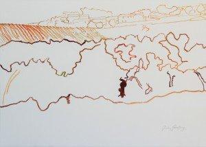 Domaine de la Tronque, sketch  06.07.16