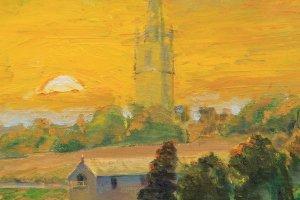 St Emilion Sunset, detail,   26.08.16