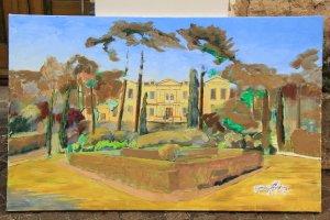 Chateau de Saurs, progressing, 12.09.16
