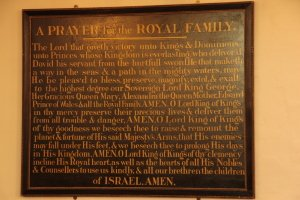 Plymouth Synagogue Prayer for the Royal Family & Country