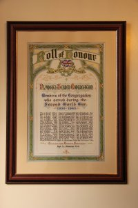 Plymouth Synagogue Roll of Honour