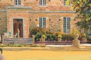 Chateau LasTours, a detail,