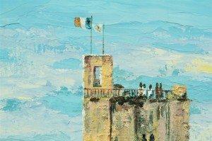 St Emilion, King's Tower, detail