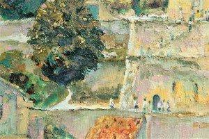 t Emilion, King's Tower, detail