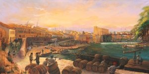 Port of Gaillac 1863