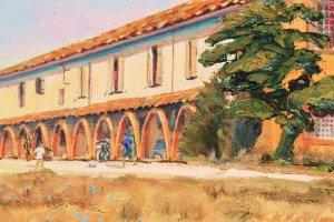Castel de Brames, detail