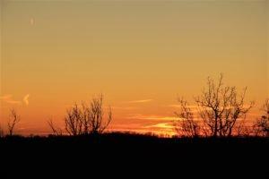Pyrenees sunset