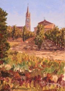 Pomerol painting
